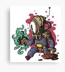 Invader Limb Canvas Print