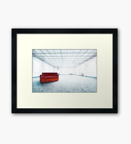 Blinded By Light. Enlightened By Darkness. Framed Print