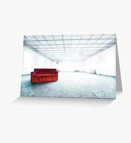 Blinded By Light. Enlightened By Darkness. Greeting Card