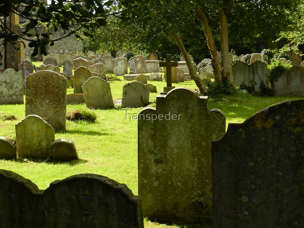 Graves In Arundel by hans peðer alfreð olsen
