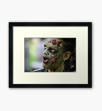 Did I leave the Gas On? Framed Print