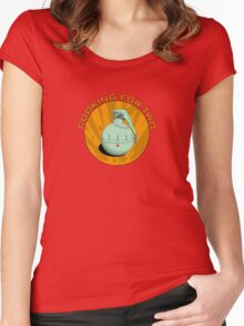 Cooking for two Women's Fitted Scoop T-Shirt