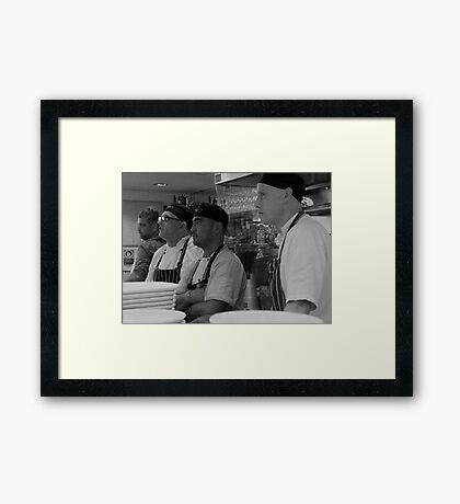 A Race That Stops The Nation Pt3 Framed Print