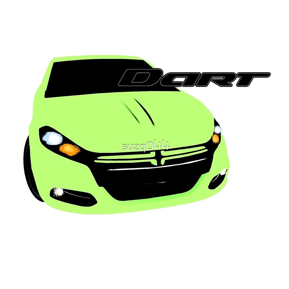 Dodge Dart - CitrusPeel Pearl by suzq044