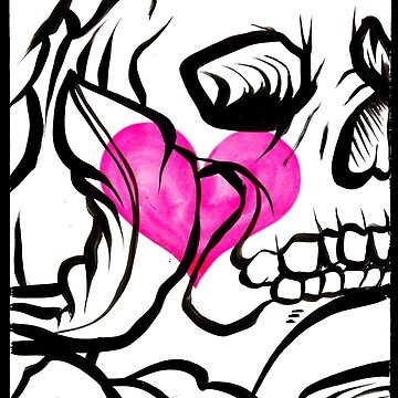 Skull Heart by George-Rose
