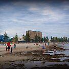 Glenelg Beach, Adelaide - a good wading day by BronReid