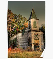 Abandoned Church (Civil War Era) Poster