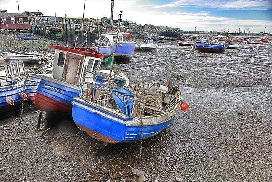 Fishing Fleet - Paddy's Hole by Trevor Kersley