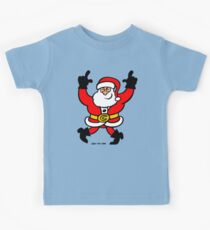 Dancing Santa Claus Kids Tee