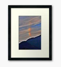 atmospheric phenomenon Gerahmtes Wandbild