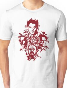 Supernatural Portraits in blood Unisex T-Shirt