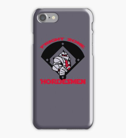 Fright Zone Hordesmen iPhone Case/Skin
