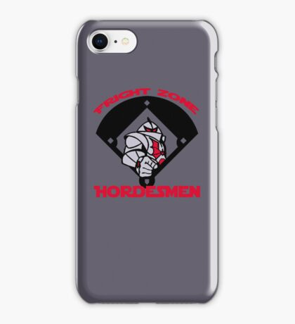 Fright Zone Hordesmen iPhone Case/Skin