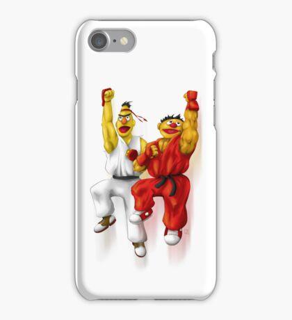 Sesame Street Fighter: Beryu & Kernie iPhone Case/Skin