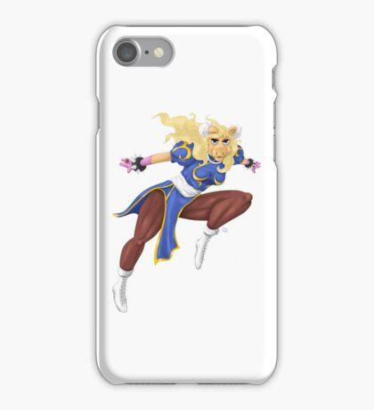Sesame Street Fighter: Pig-Li iPhone Case/Skin