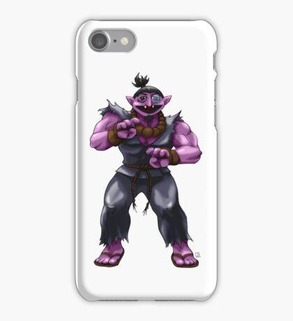 Sesame Street Fighter: Acountma iPhone Case/Skin