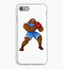 Sesame Street Fighter: Baldog iPhone Case/Skin