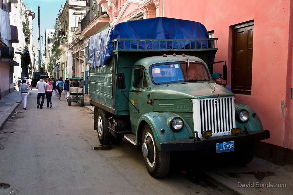 Streets Of Havana by David Sundstrom