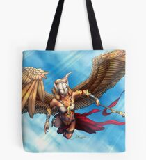 Val'kyr (WoWhead contest entry) With Background Tote Bag