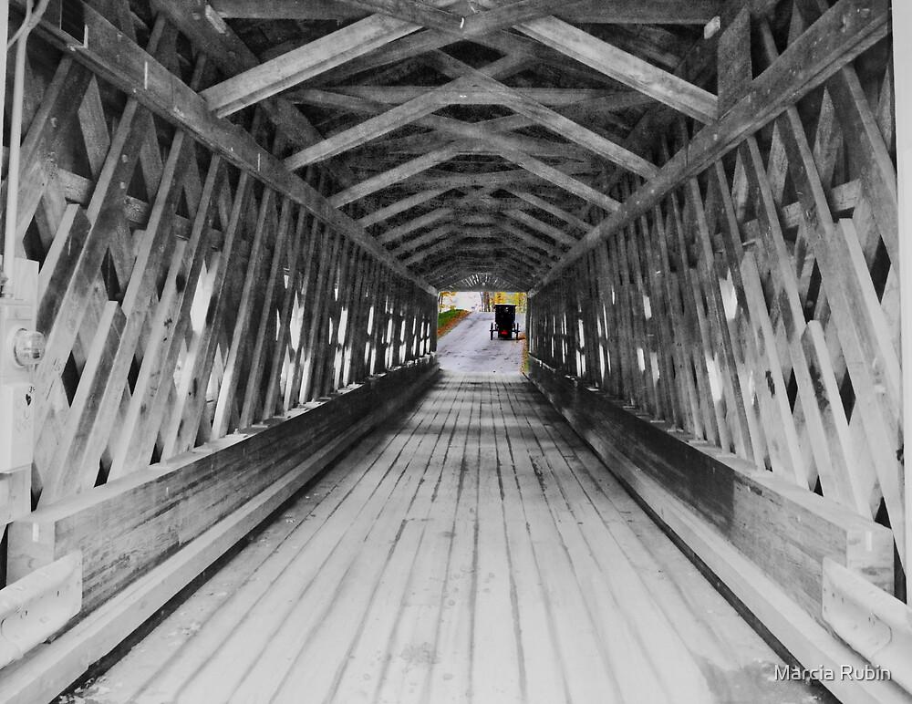Long Covered Bridge  by Marcia Rubin