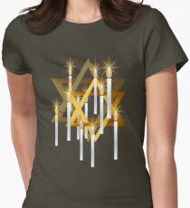 Nine White Candles and Star T-Shirt