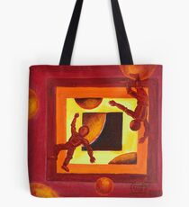 Oil Painting - Astronauts 2008 Tote Bag