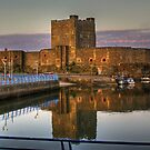 Carrickfergus Castle by Chris Tait