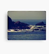 Let the rhythm of the sea heal you Canvas Print