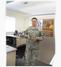 Col. Mike K. Johnson--It has been an honor Poster