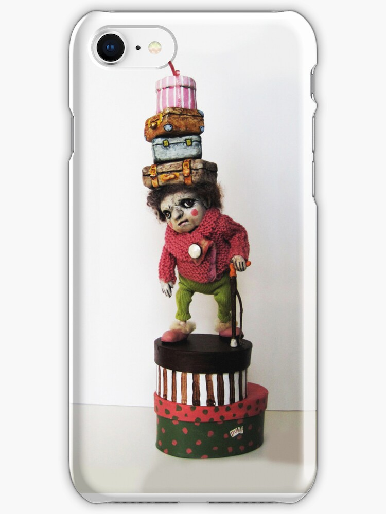 A Bit of Baggage - iphone case by LindaAppleArt