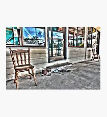 Two chairs. Photographic Print