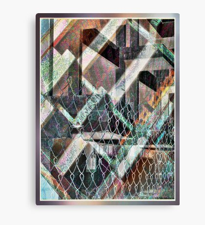 Concrete or Abstract Canvas Print