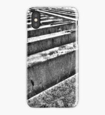 Road barriers. iPhone Case/Skin