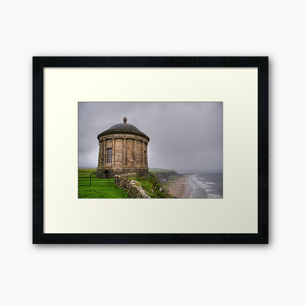 Mussenden Temple, Northern Ireland Framed Art Print