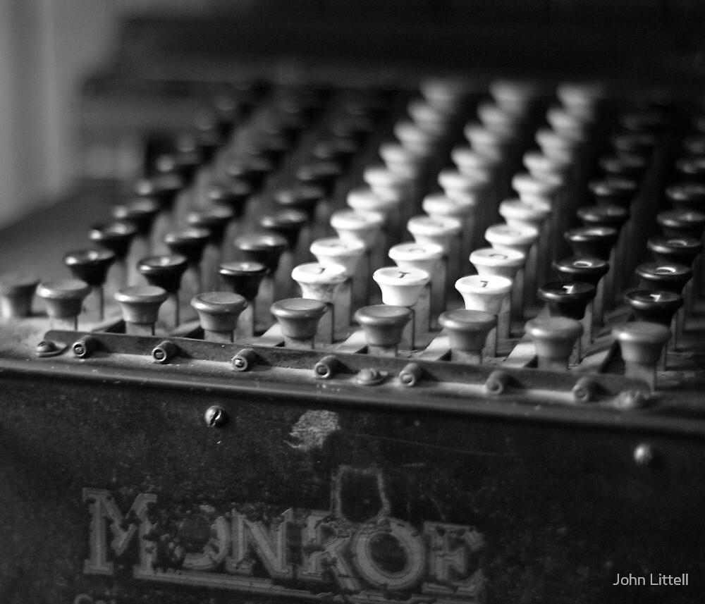 Adding Machine, Ardenwood Historic Farm, California by John Littell