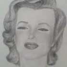 Pretty Marilyn in Pencil by jamie joy