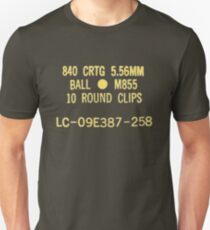 5.56x45mm M855 ammo can T-Shirt
