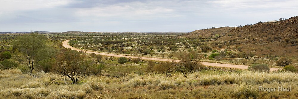 Amata road panorama by Roger Neal