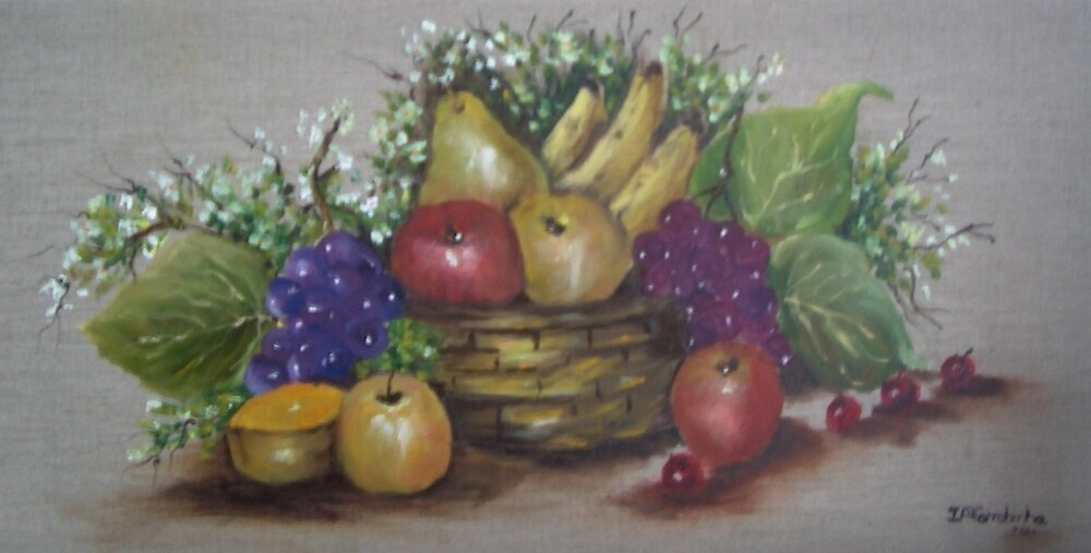 FRUIT BASKET by ISABEL ALFARROBINHA