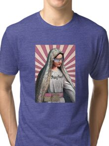 Fashion Victim Mary Street Art Tri-blend T-Shirt