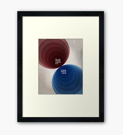 Word: 3 John Framed Print