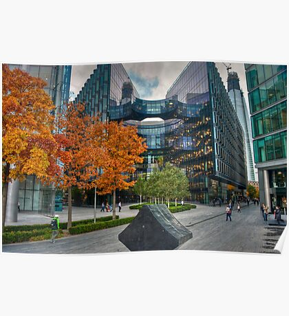 City Gold - London Autumn Poster