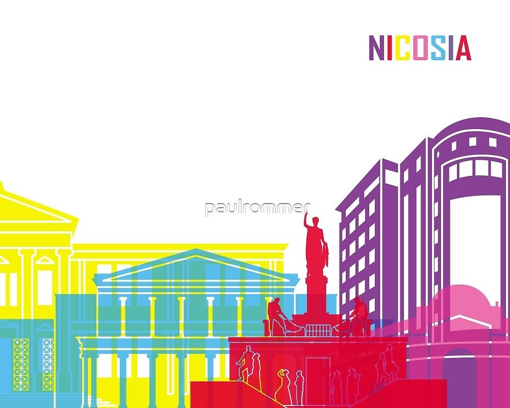 Nicosia skyline pop by paulrommer