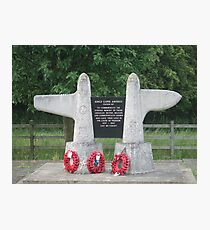 Kings Cliffe RAF Memorial Photographic Print