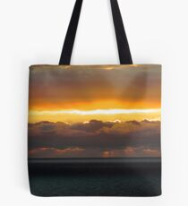 Wagoe Beach Sunset 2 Tote Bag