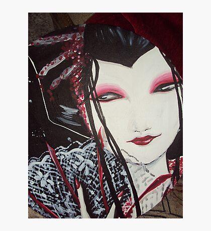 Gothic Geisha Photographic Print