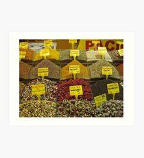 The Egyptian Spice Market Art Print