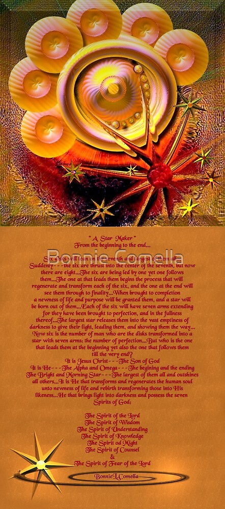 A star maker---from the beginning to the end... by Bonnie Comella