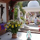 Colourful and peaceful - graveyard in Puerto Vallarta, All Souls' Day by Bernhard Matejka