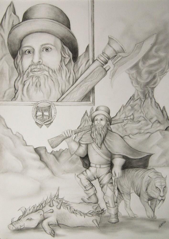 Dwarf Hunter by Claire Watson